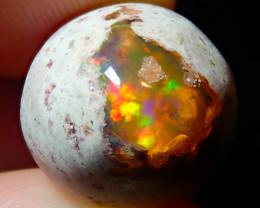 10.3ct Mexican Matrix Cantera Multicoloured Fire Opal