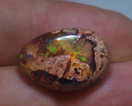 14ct Mexican Matrix Cantera Multicoloured Fire Opal