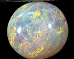 N8  -   1.41 CTS   L.RIDGE WHITE OPAL POLISHED STONE TBO-262