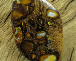 46cts, YOWAH OPAL~CONGLOMERATE PATTERN.