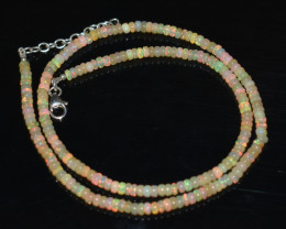 45.00 CT OPAL NECKLACE MADE WITH NATURAL ETHIOPIAN BEADS A-6