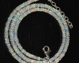 33.30 CT OPAL NECKLACE MADE WITH NATURAL ETHIOPIAN BEADS A-10