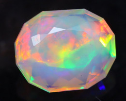 1.50Ct Bright 5/5 Multi Pattern Master Piece of Designer Cut Welo Opal H19