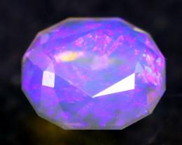 Black Crystal 2.37Ct Master Piece of Designer Cut Ridge Black Opal H90