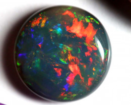 N2 - 3.31 CTS QUALITY BLACK OPAL POLISHED STONE  INV-OPM-268