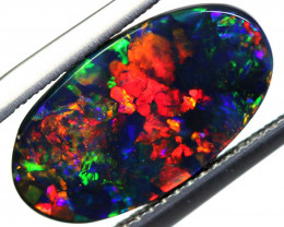 N1 -  2.53CTS QUALITY BLACK OPAL POLISHED STONE  INV-1905AS