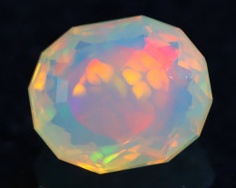 Aurora Cell Patter 1.54Ct Master Piece of Designer Cut Welo Opal H21