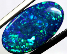 N1 -  6.94CTS QUALITY BLACK OPAL POLISHED STONE  INV-1901AS/A