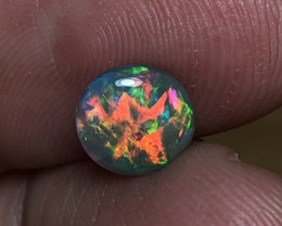 1.25ct Lightning Ridge Black Opal FM126