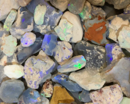 1100 CTS STRAIGHT FROM THE MINE LIGHTNING RIDGE OPAL