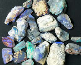 95.0Cts Opalized Wood Fossils With some purple Color BB-624