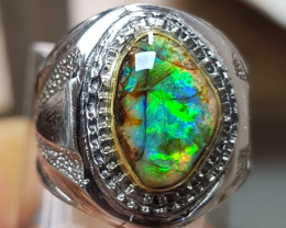 52.10 CT Unique Indonesian Opal Ring Jewelry
