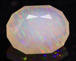 Rainbow Needle 2.90Ct Master Piece of Designer Cut Welo Opal H31