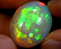 Luxury Opal 20.97cts HONEYCOMB Ethiopia Opal (SELLER COLLECTION) / BF1047