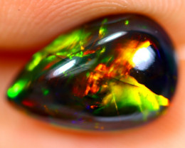1.96cts Natural Ethiopian Smoked Black Opal / BF1085