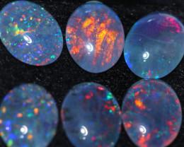 7.2 Cts  Australian Triplet  Opals 9x7 mm   OPJ 2909