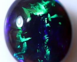 5.11 CTS BLACK OPAL STONE-FROM  LIGHTNING RIDGE - [LRO1017] TRAY