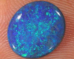 2.8ct 11x9.5mm Solid Lightning Ridge Black Opal [LO-2088]