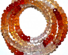Faceted Mexican Opal Beads