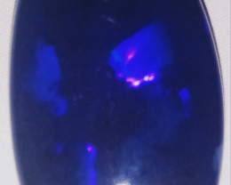 10.3 cts Black opal from Lightning ridge