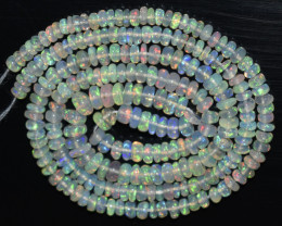 29.30 Ct Natural Ethiopian Welo Opal Beads Play Of Color OB997