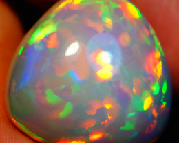 32.14CT PATCHWORK PATTERN BEAUTIFUL FLASHY WELO ETHIOPIAN OPAL-GAA120