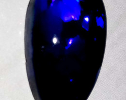 11.6 cts Black opal from Lightning ridge