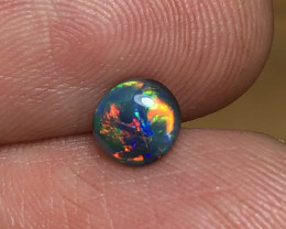 0.68ct Lightning Ridge Black Opal LRS1062