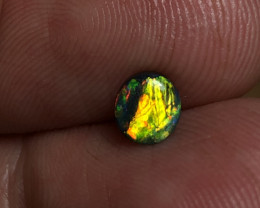 0.50ct Lightning Ridge Black Opal FM286