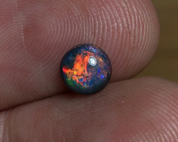 0.83ct Lightning Ridge Black Opal LRS1040