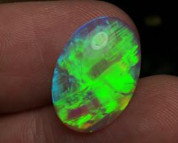 5.67ct Lightning Ridge Crystal Opal LRS1036