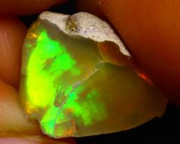 7.87Ct Multi Color Play Ethiopian Welo Opal Rough G0918