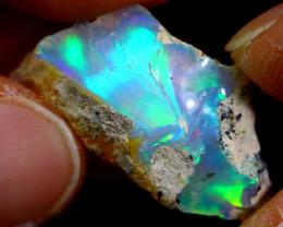 11cts Ethiopian Welo Rough Opal / WR1657