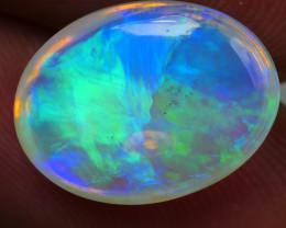 6.090CRT BRILLIANT BRIGHT CRYSTAL BLUE WELO OPAL -