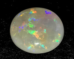 High Grade White Crystal Opal -  Coober Pedy Australia - 1.07 Cts