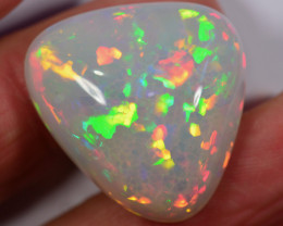 30 CT - HUGE BRILLIANT HONEYCOMB WELO OPAL CABACHON