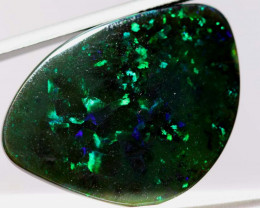 N1 -  22.90 CTS QUALITY BLACK OPAL POLISHED STONE  INV-OPM851