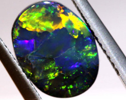 N1 -  1.94CTS QUALITY BLACK OPAL POLISHED STONE  INV-OPM 211