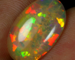 2.90cts Cell Honeycomb Pattern Natural Ethiopian Welo Opal