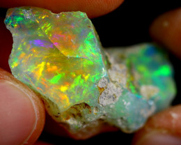 25cts Ethiopian Welo Rough Opal / WR1718