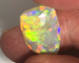 7.30 Carat very bright crystal opal rub