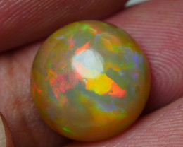 4.570 CRT DARK BASE ROUND RIBBON FLORAL PATTERN PLAY COLOR WELO OPAL-