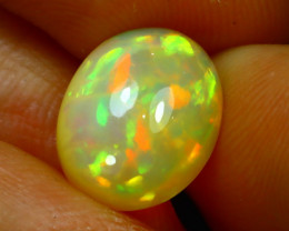 Welo Opal 3.16Ct Natural Ethiopian Play of Color Opal FR25