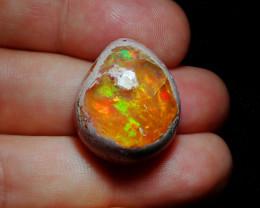 Mexican Matrix Cantera Multicoloured Fire Opal Specimen