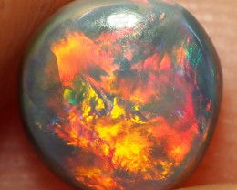 0.50CT SOLID LIGHTNING RIDGE BLACK OPAL  ST439