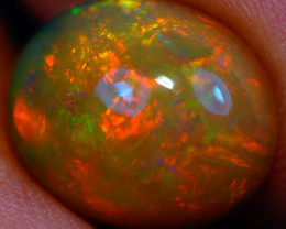 2.90 CT 12X10 MM Top Quality Natural Welo Ethiopian Opal-GD367