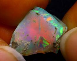 5.18Ct Multi Color Play Ethiopian Welo Opal Rough G1703