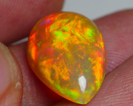 4.960 CRT GORGEOUS PEACOCK FLORAL FIRE WELO OPAL
