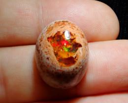 20.97ct Mexican Matrix Cantera Multicoloured Fire Opal