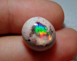 10.61ct Mexican Matrix Cantera Multicoloured Fire Opal